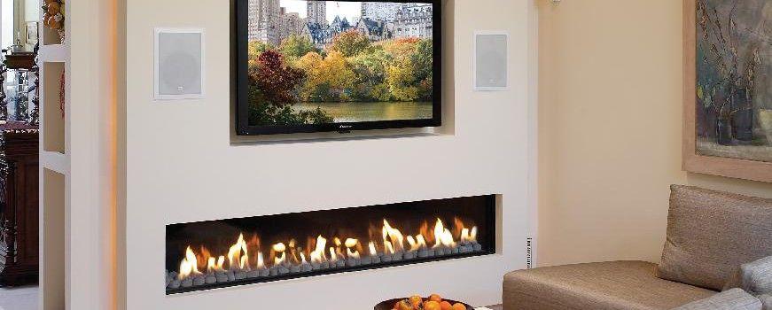 A Long Gas Fireplace Convenient Gas Fireplaces