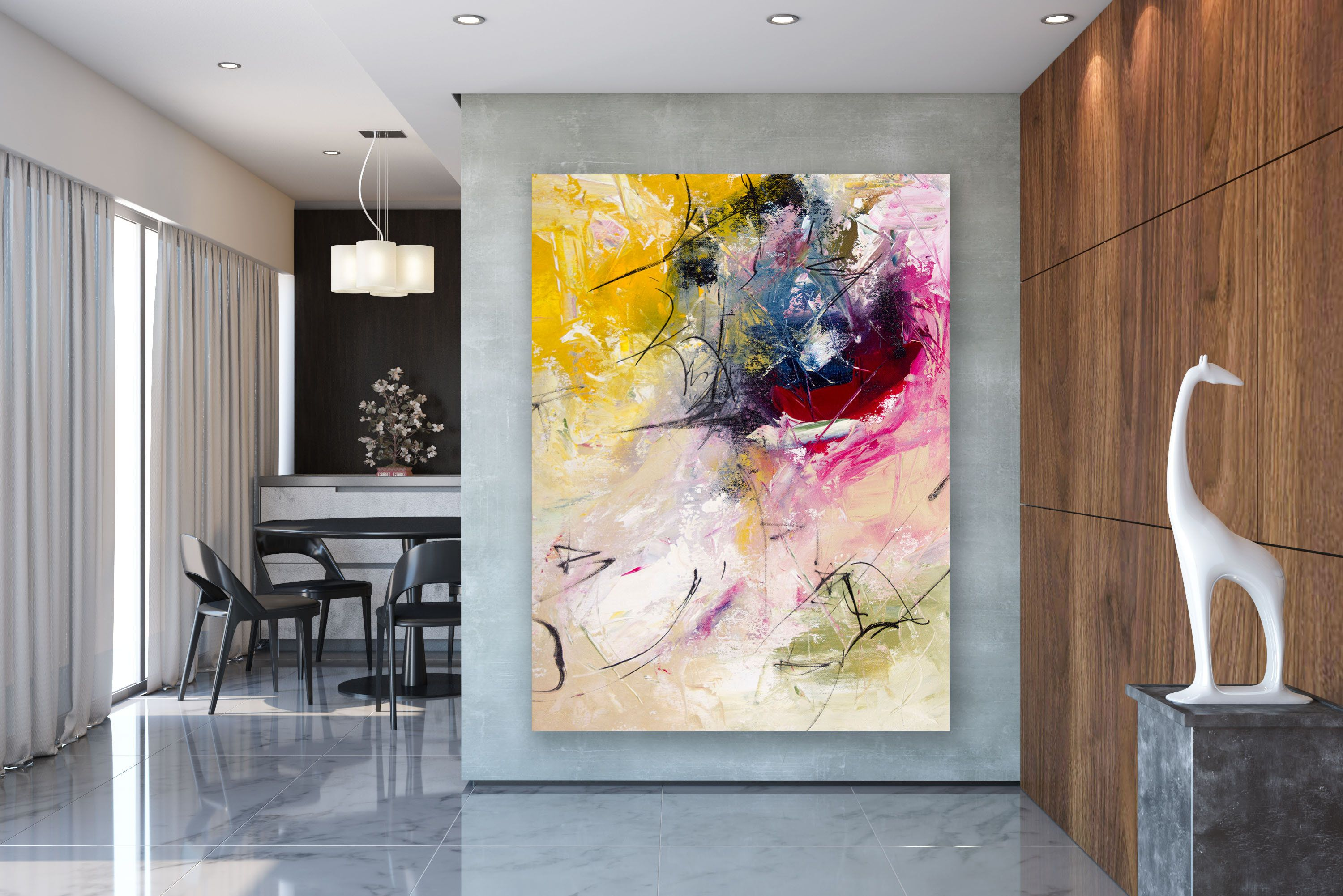 Large Modern Wall Art Painting Large Abstract Wall Art Acrylics Paintings Abstract Originals Bathroo Large Modern Wall Art Oversized Wall Art Abstract Wall Art