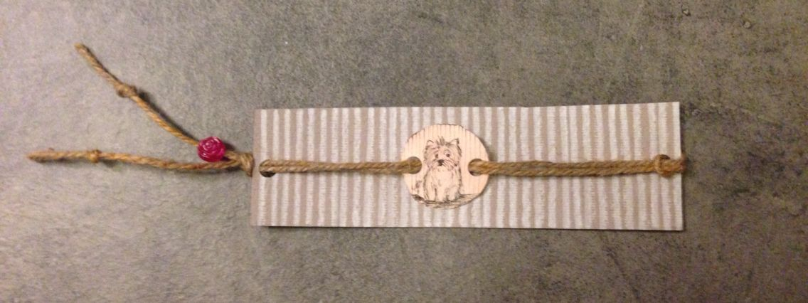 Dog bookmark!