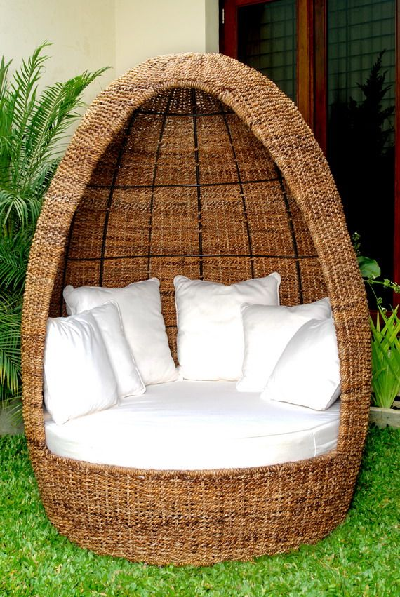 Rattan Land Furniture  Occasional  Mali Egg Chair