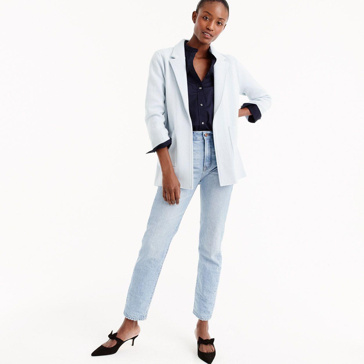 Jcrew Womens New Lightweight Sweater Blazer Size Xxxs Products