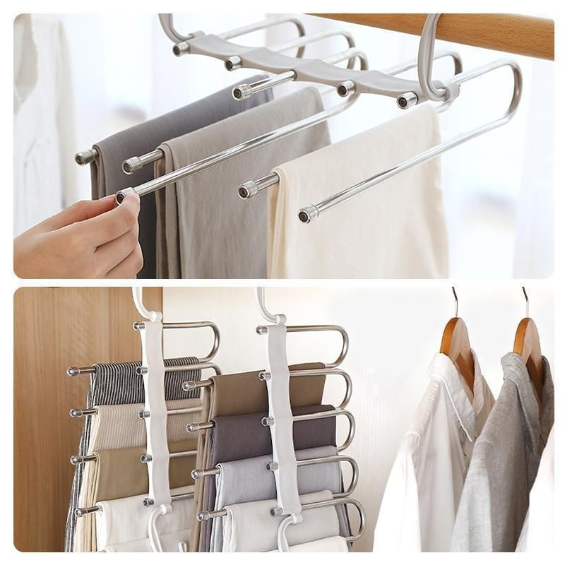 Multi Functional Pants Rack Pants Rack Bedroom Closet Design