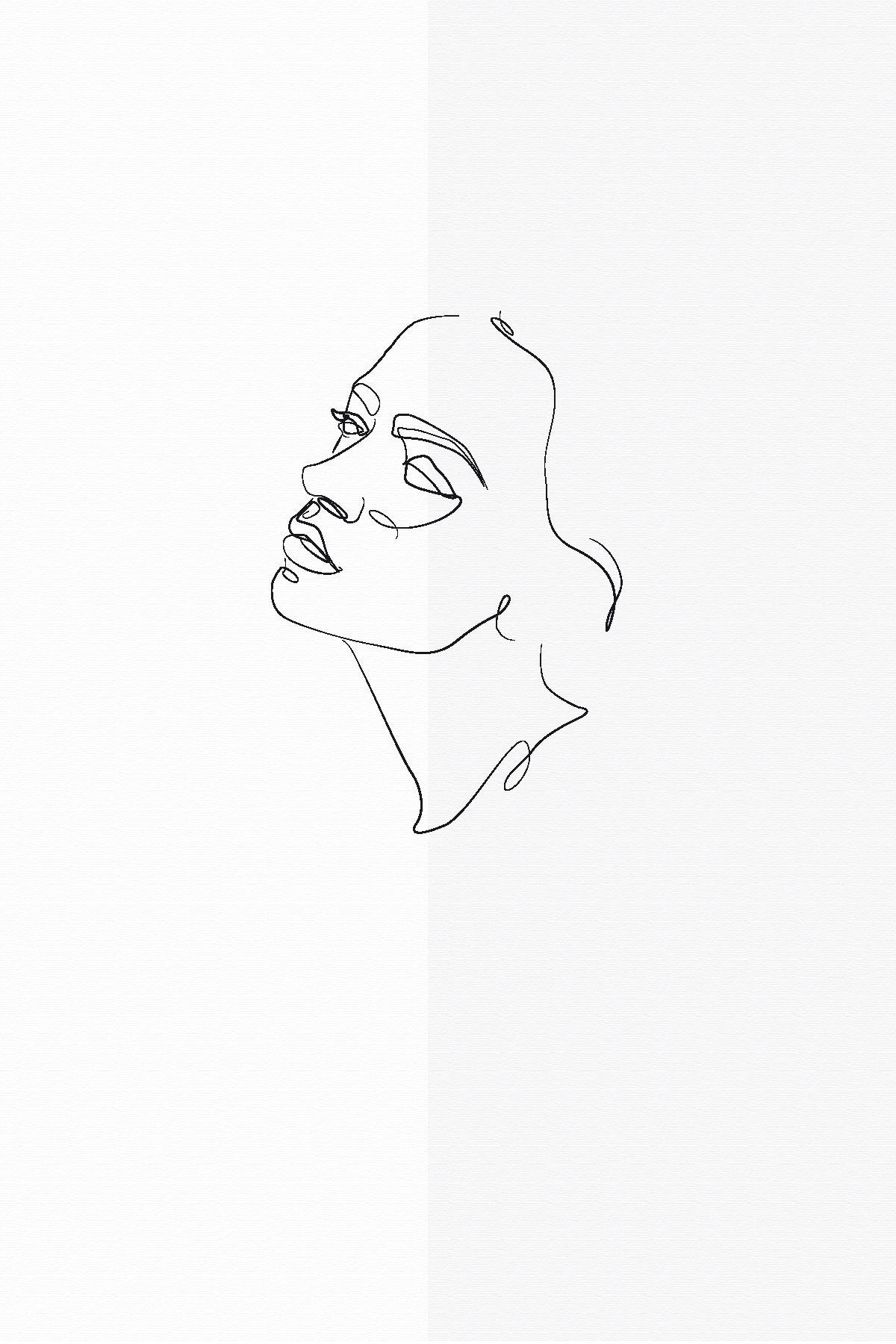 Minimalist Drawings Beautiful Line Art And Simple Sketches In 2020 Minimalist Drawing Abstract Line Art Minimalist Wallpaper