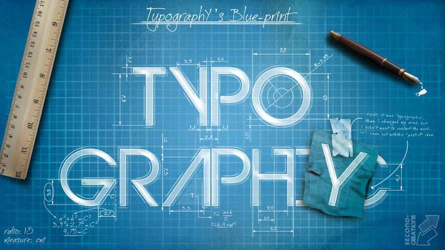 Typographys blueprint by second creationsiantart typographys blueprint by second creationsiantart malvernweather Image collections