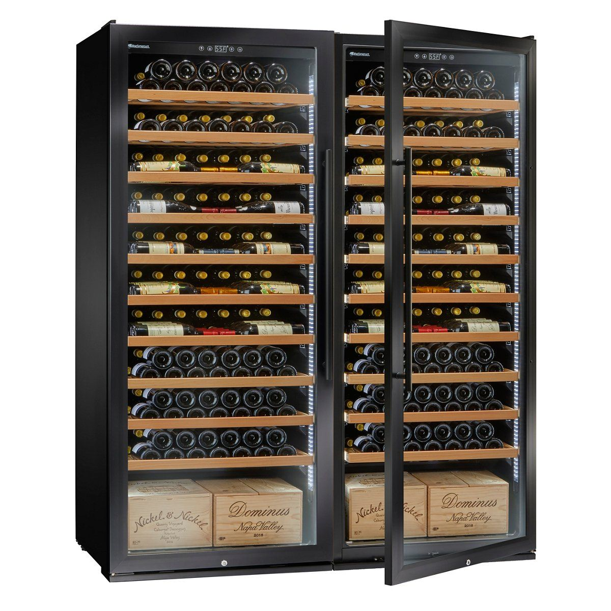 Classic Xl 600 Bottle Wine Cellar With Vinoview Shelving In 2020 Wine Case Wine Cellar Wine