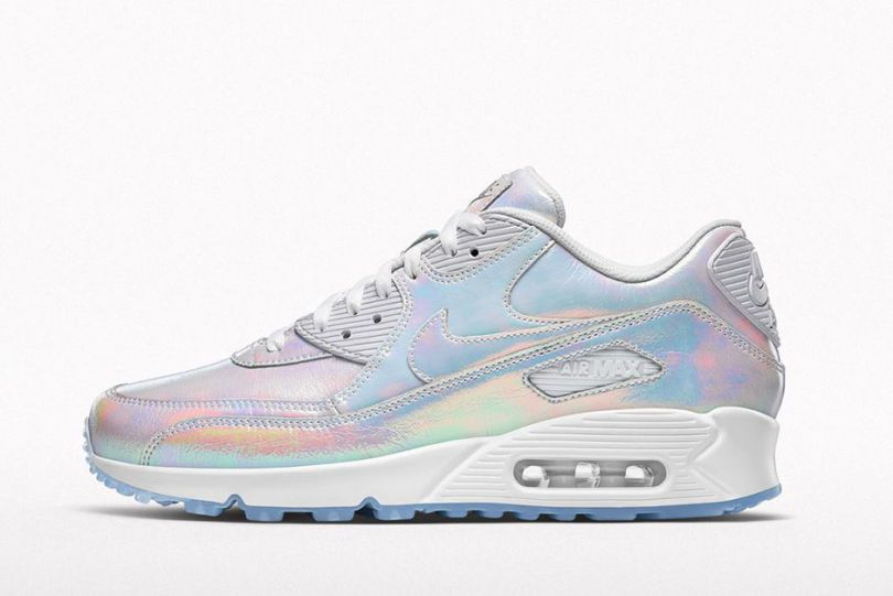 newest 009d6 de442 ... iridescent swoosh sklep Nike Air Max 90 Mid Winter Black In time for  the warmer months of the year, NIKEiD launches its new NSW Summer ...