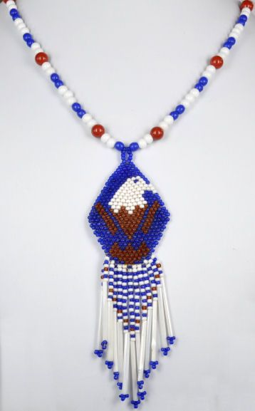 Eastern Cherokee Jewelry | Cherokee Indian With Bead Style Necklaces Page 7 (earr)