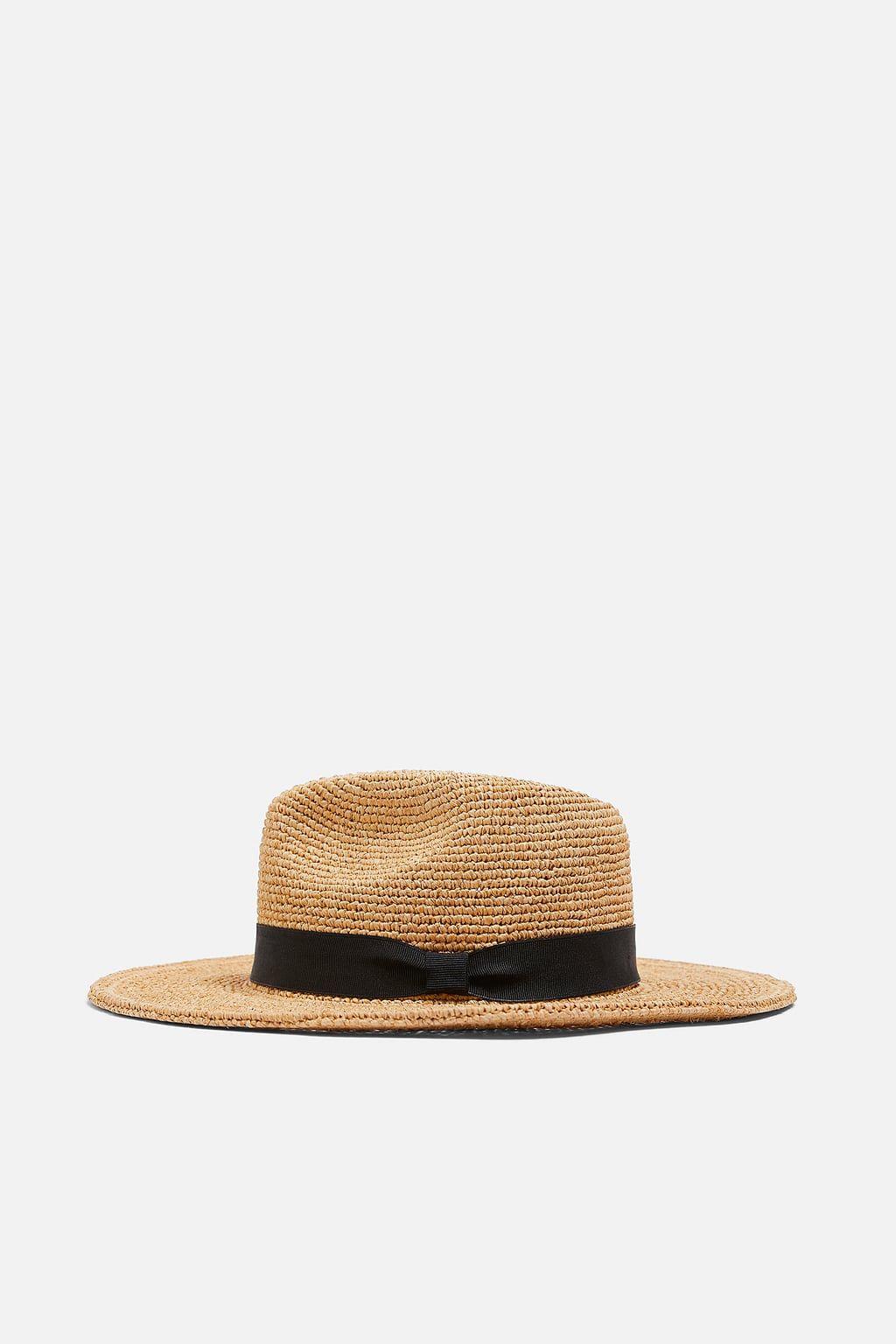 Large Brimmed Hat Hats Beanies Accessories Woman Zara United States Complementos Para El Pelo Sombreros Online Zara