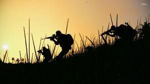 Image result for soldier silhouette