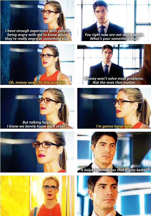 Arrow - Ray Palmer and Felicity Smoak #3 2 #Season3 <3 | Arrow