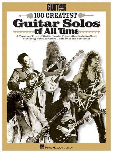 Hal Leonard Various Artists Guitar World S 100 Greatest Guitar