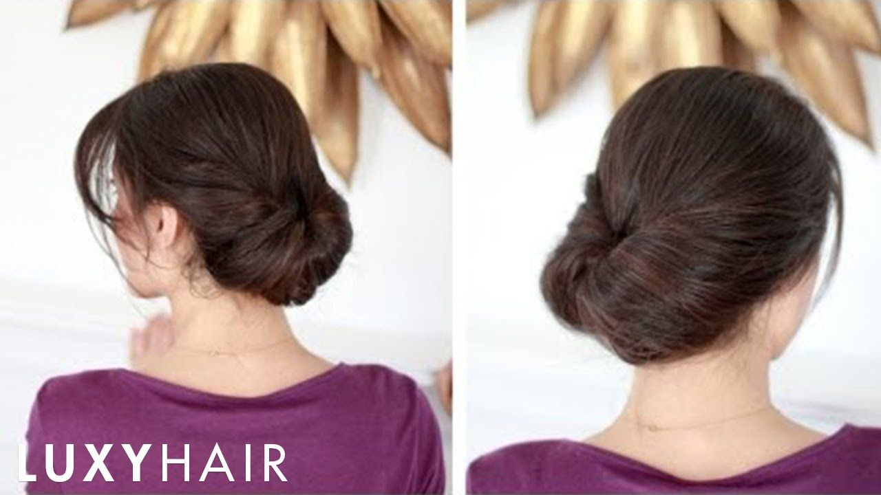 Easy everyday updo haare pinterest everyday hairstyles and updo