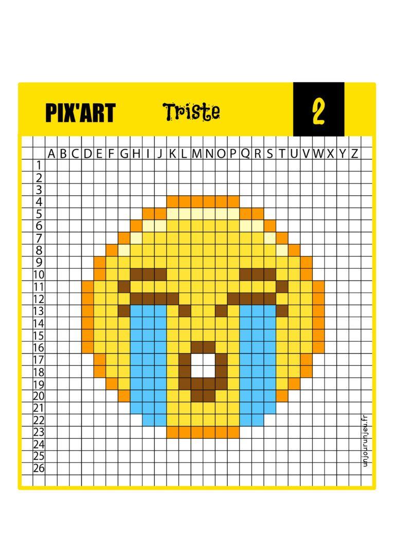 12 Modeles De Pixel Art Smiley A Telecharger Gratuitement En 2020