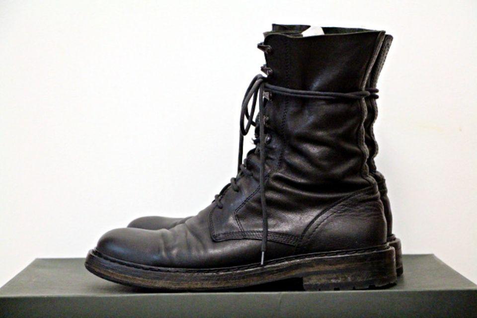 Ann Demeulemeester Combat Boots Size 9 400 Boots