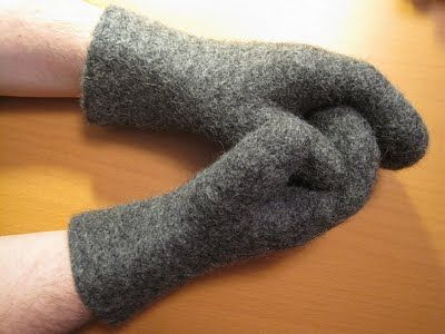"The tradition in many parts of Sweden has been that items that are made to be warm and durable have been fulled, since that greatly enhances these characteristics. Mittens that were more of ""show off"" and made to be worn at mass and at weddings were not fulled, and often decorated in many ways."