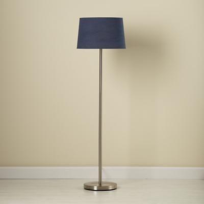 Kidsu0027 Floor Lamps: Kids Floor Lamp Base With Fabric Shade In Floor Lamps