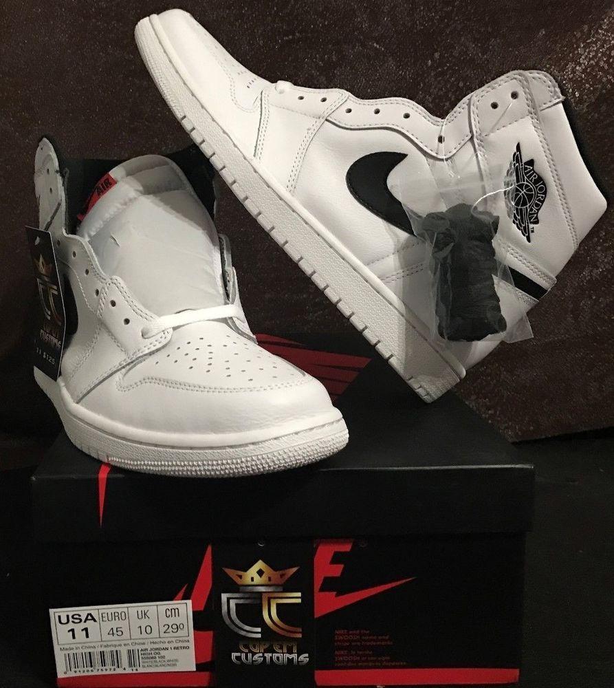 new style 298fd d34c3 NEW Air Jordan 1 Retro High OG Prm  Yin Yang  MEN SIZE 11  Nike   AthleticSneakers