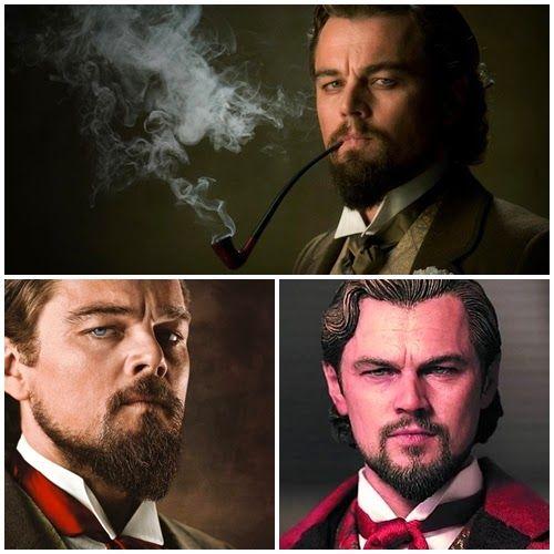 Leonardo DiCaprio as Calvin J. Candie: Django Unchained Movie Figure