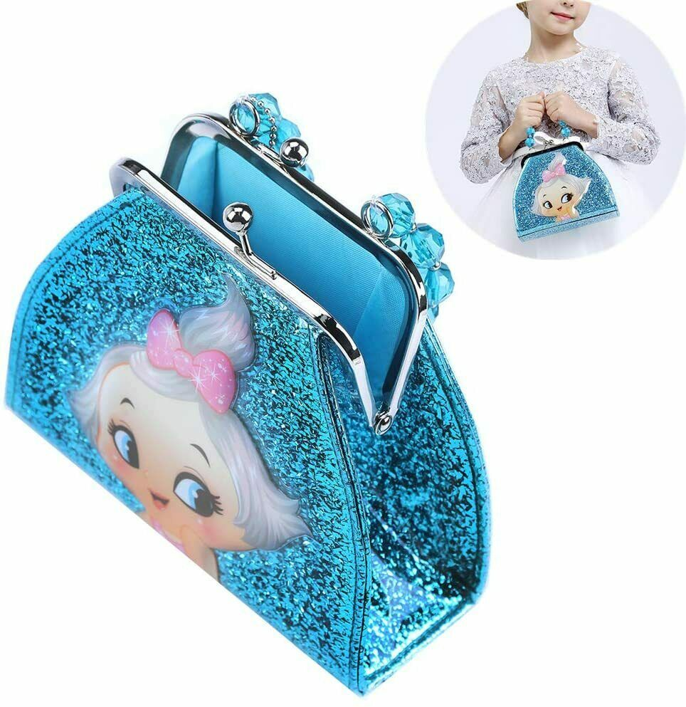 Girls Handbag for 4-10 Year Old Birthday Gifts Glitter Purse for Age 3-10 yr Bag | eBay in 2020 ...