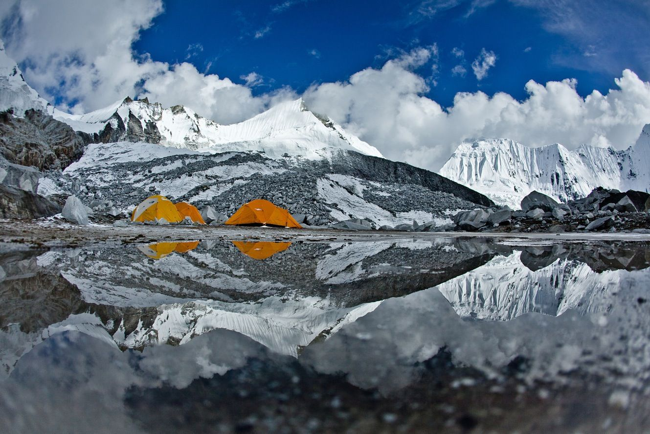 Snowboarding Monster Lines In Nepal