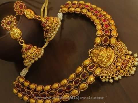 4b20741a2 Antique Temple Necklace Sets, Temple Necklace Sets, Imitation Temple  Necklace Sets, Artificial Temple Jewellery Necklace Sets
