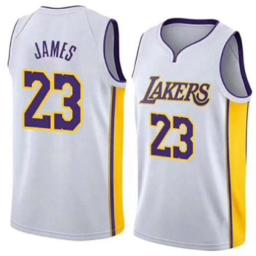 the latest a422b 5dce7 New Los Angeles Lakers Lebron James Jersey #23 Basketball ...