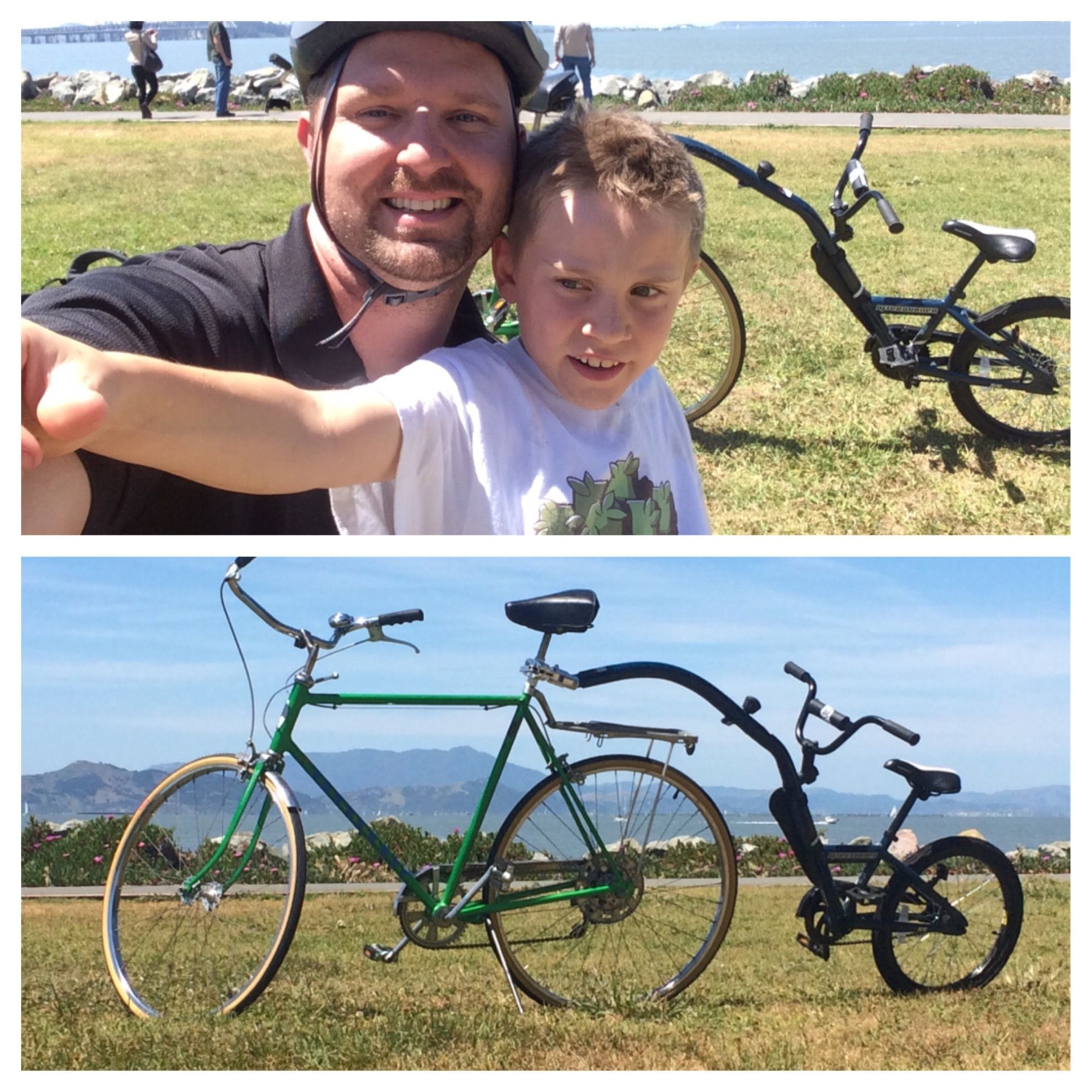 Dads, #Dadlife, vintage bicycle, fixed gear, fixie, vintage Schwinn, #Schwinning, bike