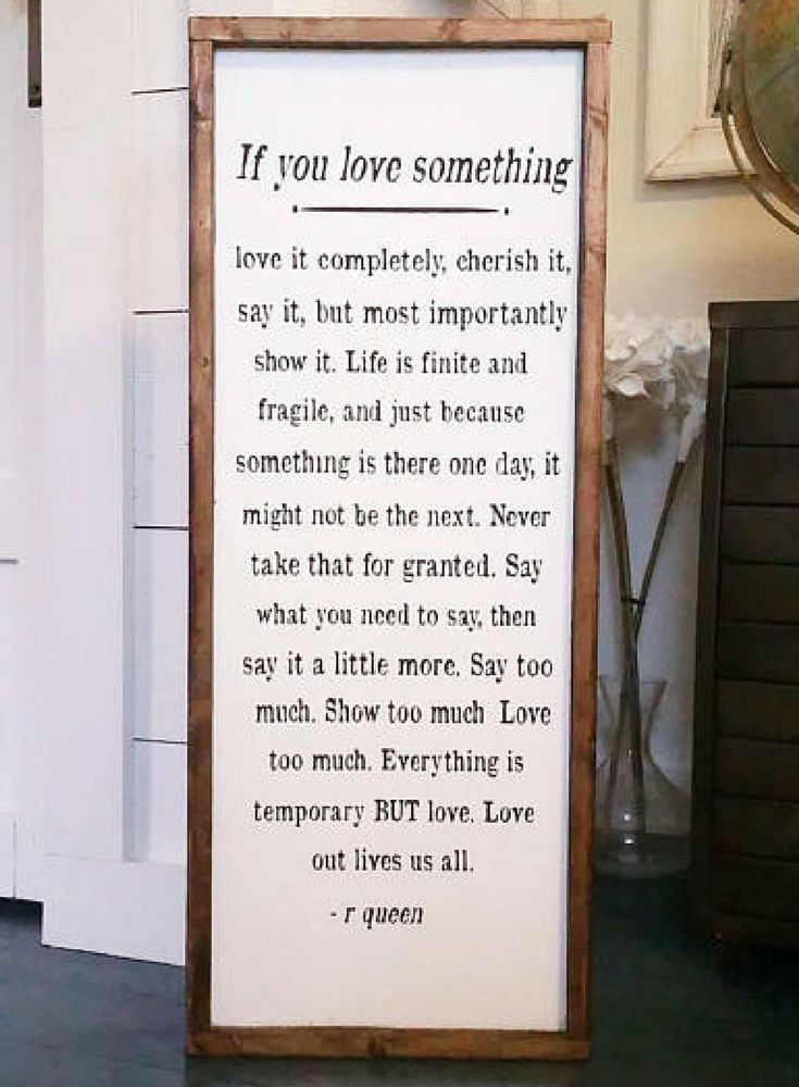Inspirational quote sign story book sign if you love something love story decor farmhouse sign wood signs nursery decor handcrafted sign