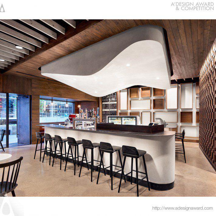 Caffe Medici Coffee Shop Silver A' Design Award Winner