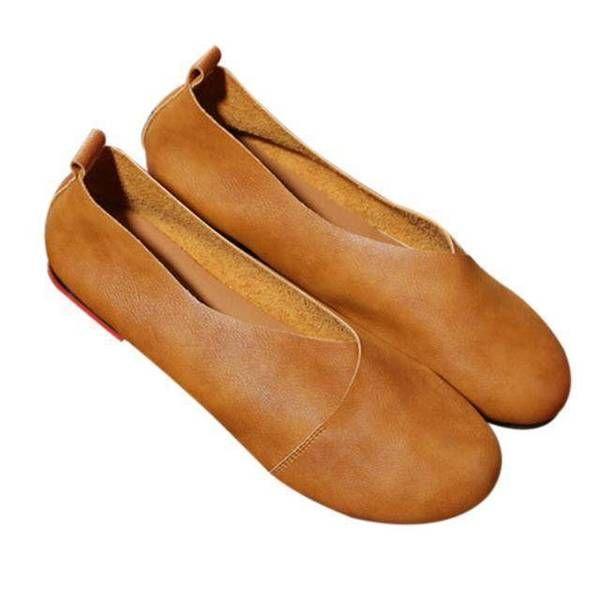 1c79f4fe1d14 Genuine Cow Leather Hand-sewn Loafers - www.Nuroco.com ad