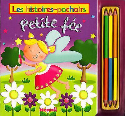 Les Histoires-Pochoirs - Petite Fée - Marie Allen - Eds. Hemma - 2010
