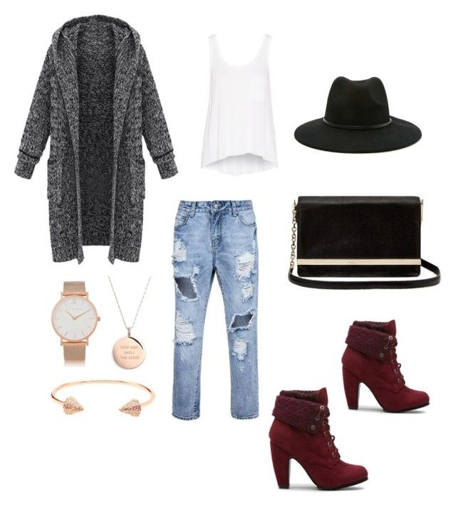 """""""Untitled #95"""" by tyra-breann on Polyvore featuring rag & bone, Diane Von Furstenberg, Forever 21, Kate Spade, Larsson & Jennings and CC SKYE"""