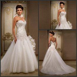 Image Result For Ruched Drop Waist Wedding Dress