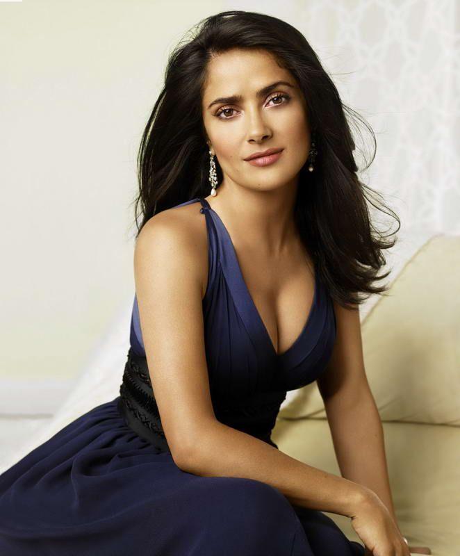 Stylish Beauties!!!   beautiful   Salma hayek, Salma hayek ...