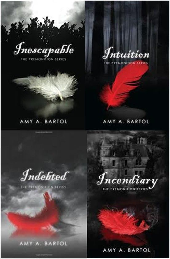 Premonition Series By Amy A Bartol Love This Series Books