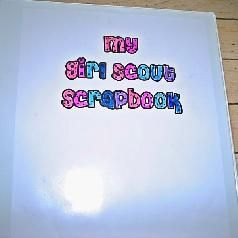How to make a perpetual Girl Scout Scrapbook