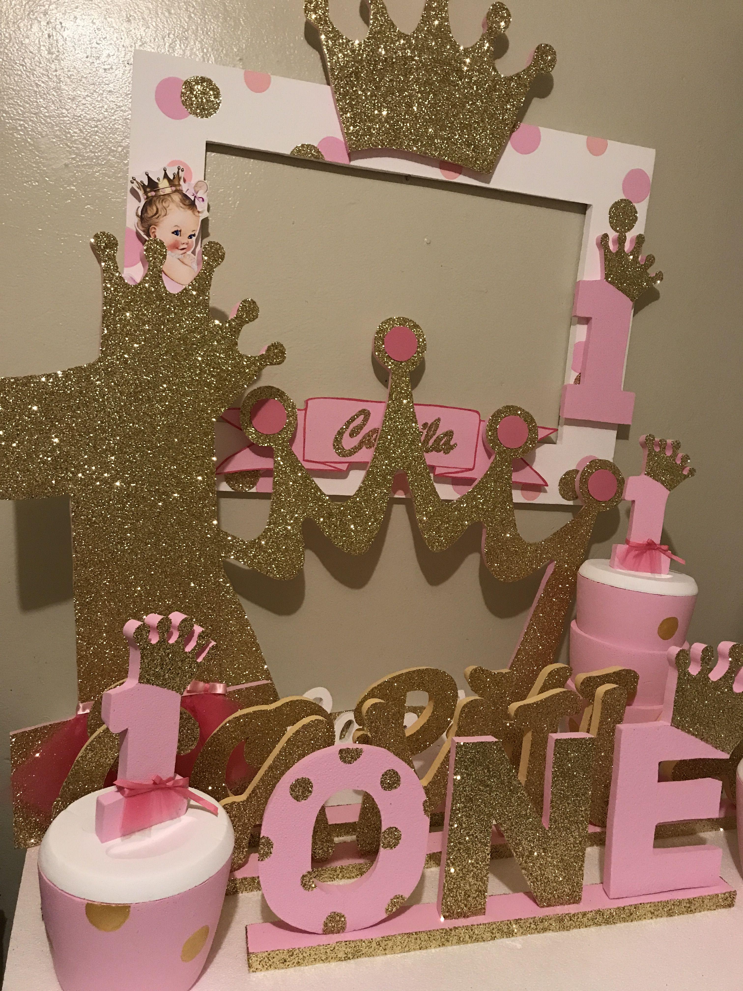 Princess crown decoration princess en 2019 decoracion - Fiestas de cumpleanos de princesas ...