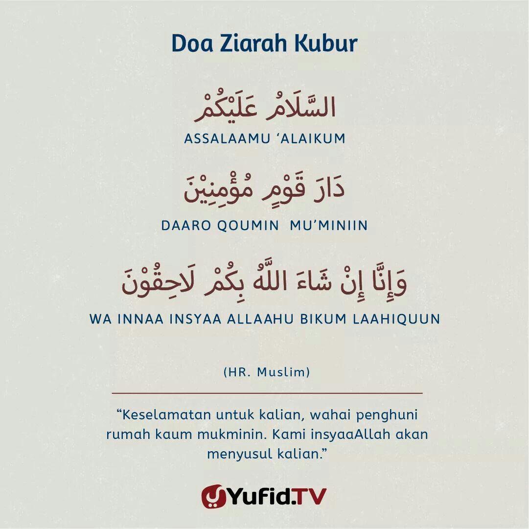 Doa Ziarah Kubur Doa Kutipan Agama Kata Kata Indah
