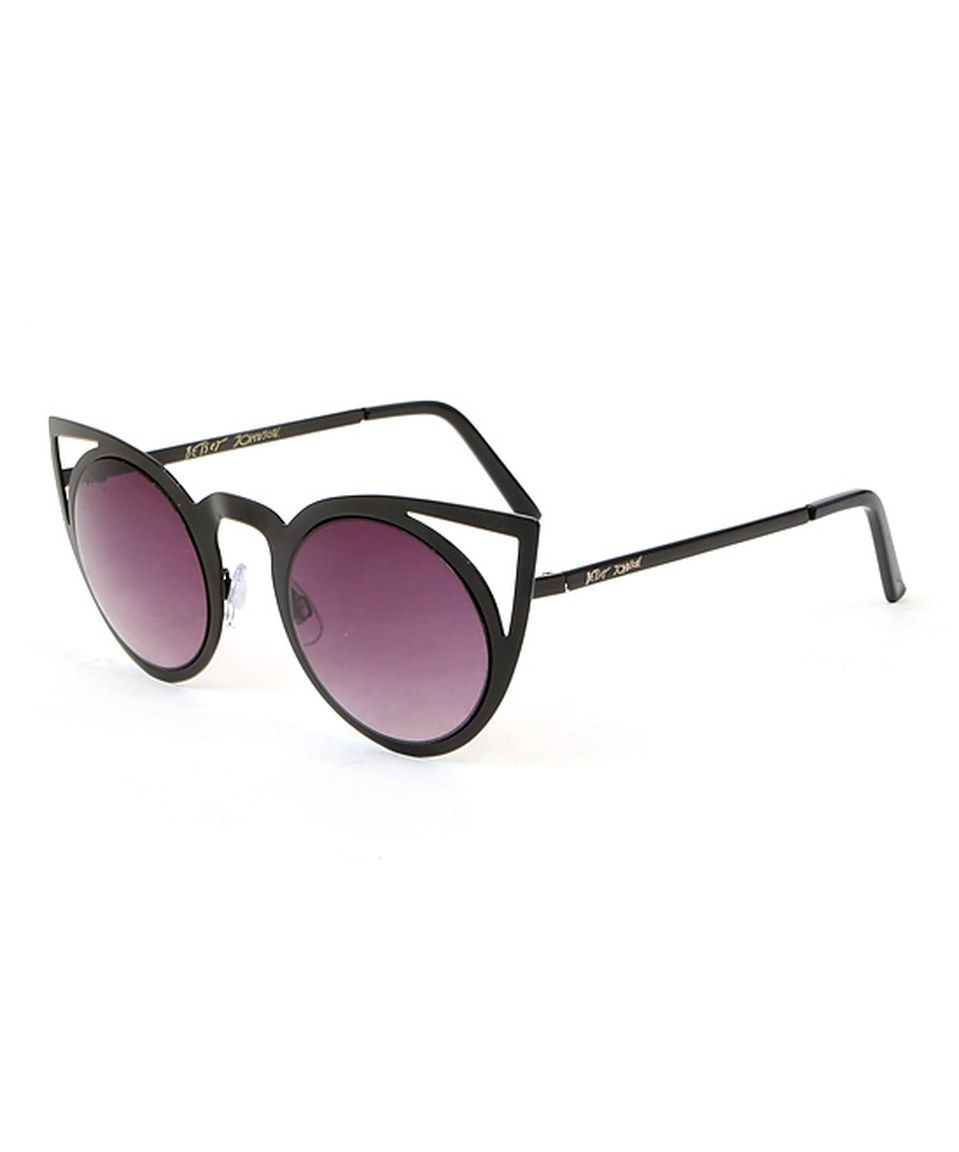 d5fa9d9bf1e Another great find on  zulily! Black Out Kitty Sunglasses by Betsey Johnson   zulilyfinds