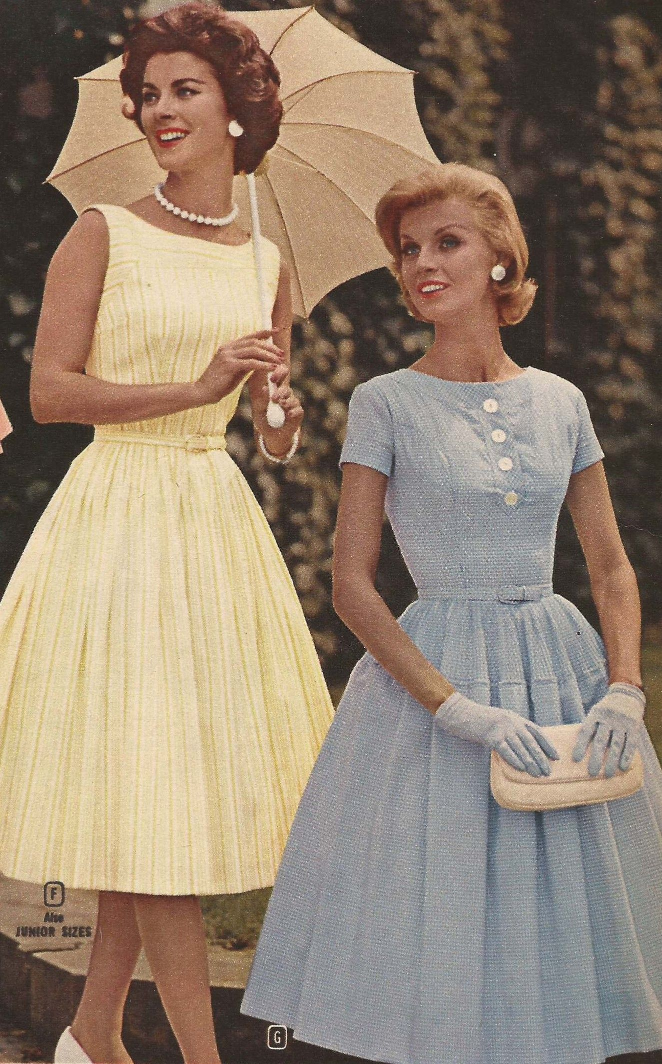 From The 1960 Spring And Summer Montgomery Ward Catalog