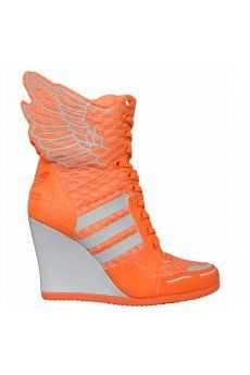Adidas Jeremy Scott Athletic Wings Wedge Shoes | Crazy for shoes