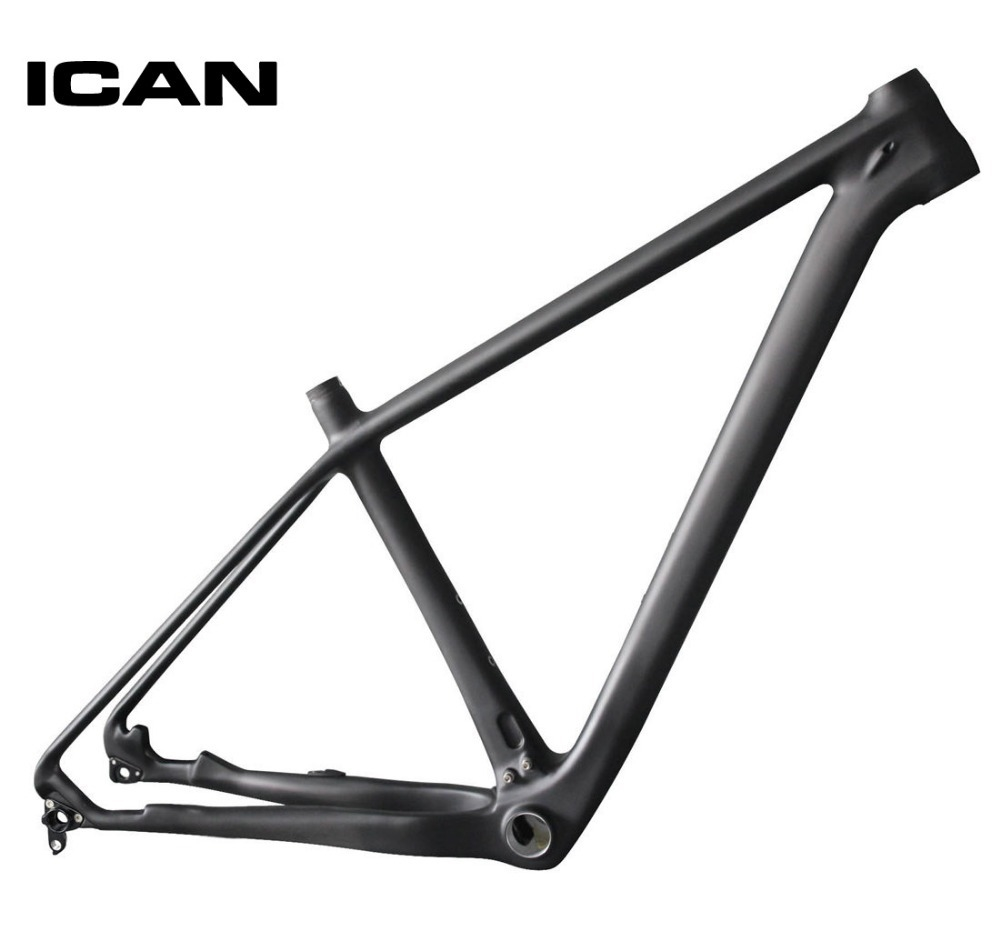 524.00$  Buy here - http://alinyv.worldwells.pw/go.php?t=32216844706 - ICAN 29ER carbon frame mtb mountain bike 142x12 135x9 UD-matt mtb carbon frame 29er BB92 bottom bracket bicycle frame X6