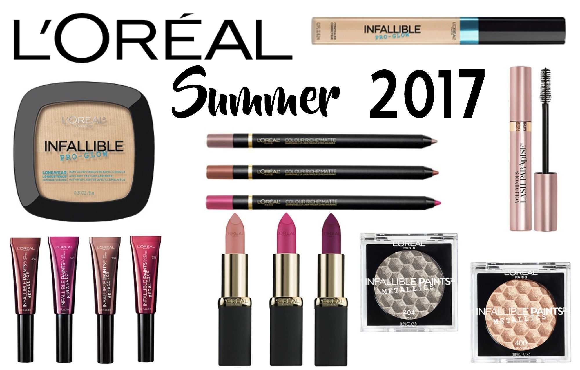 NEW L'ORÉAL Makeup Now Available at ULTA (Summer 2017