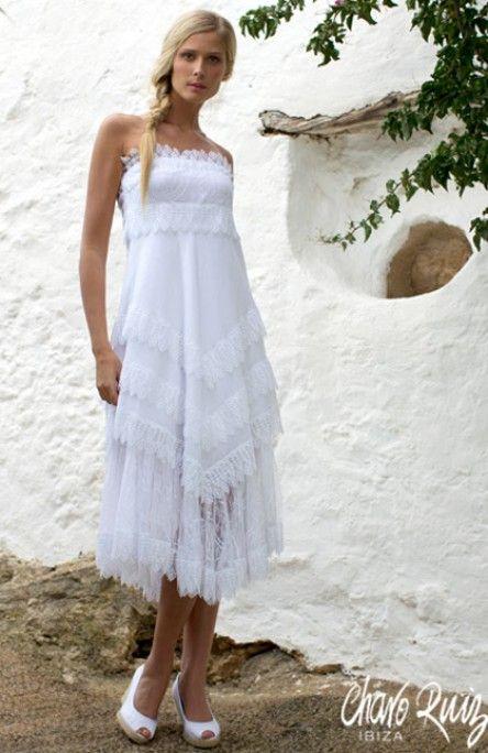 novia blanco ibicenco playa   Outfits   Pinterest   Playa, Blanco y ...