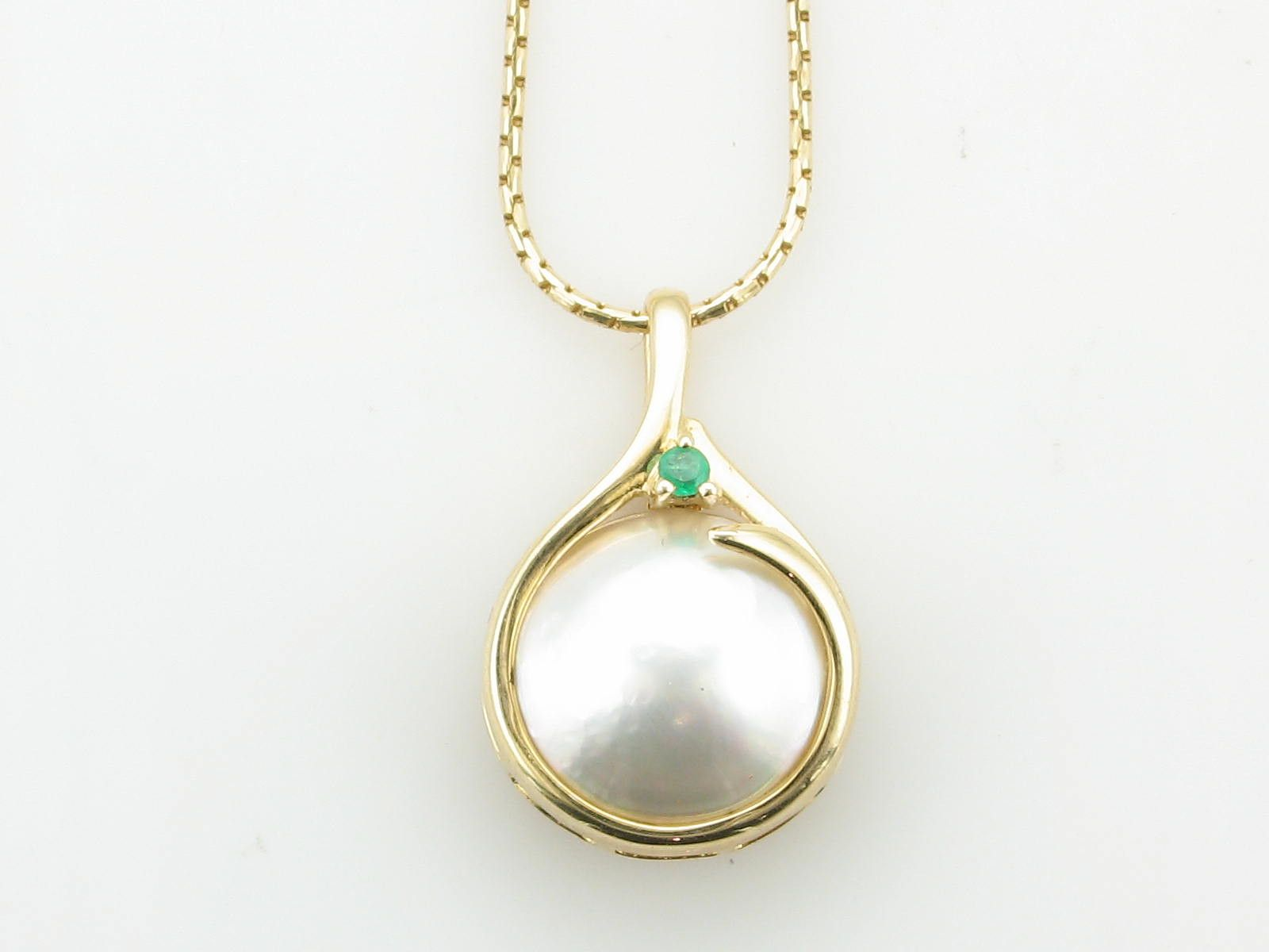 Pearl and emerald necklace from uniq jewelry gallery jewelry