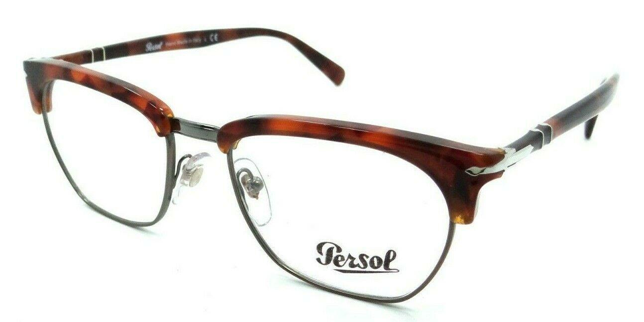 5d22707c13 Persol RX Eyeglasses Frames 3196 V 1072 53-19 Brown Tortoise Tailoring  Edition