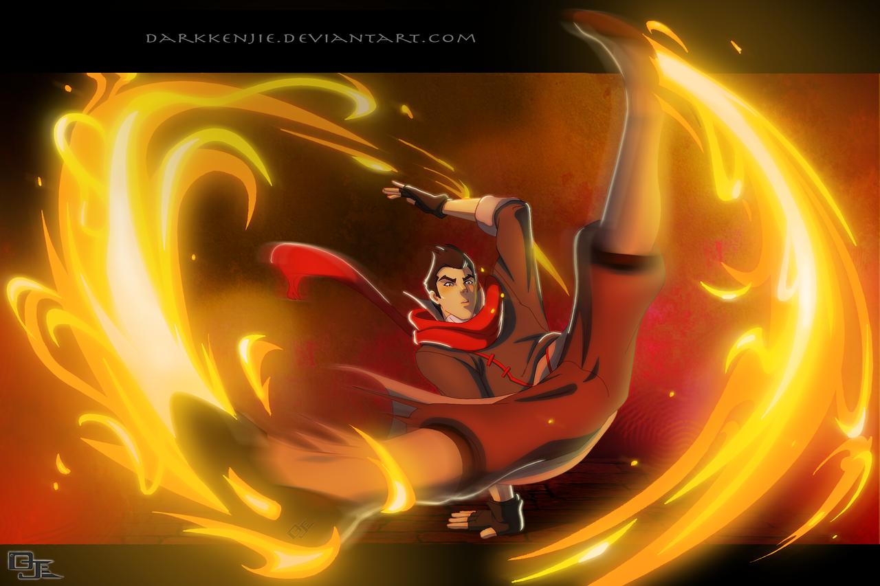 DarkKenjie on DeviantArt:  Fire Bender