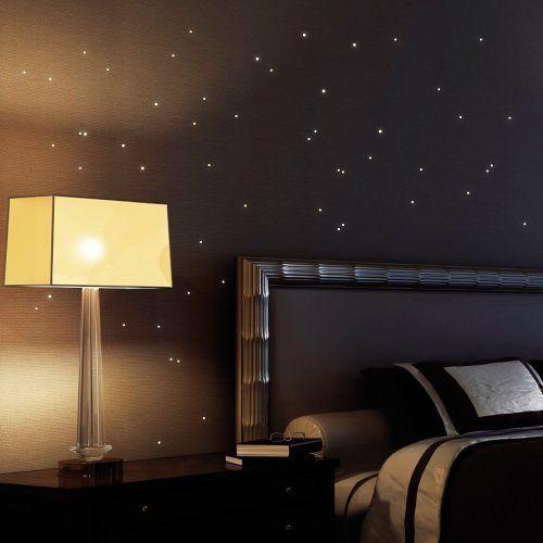 Wandtattoo Loft  - sternenhimmel im schlafzimmer