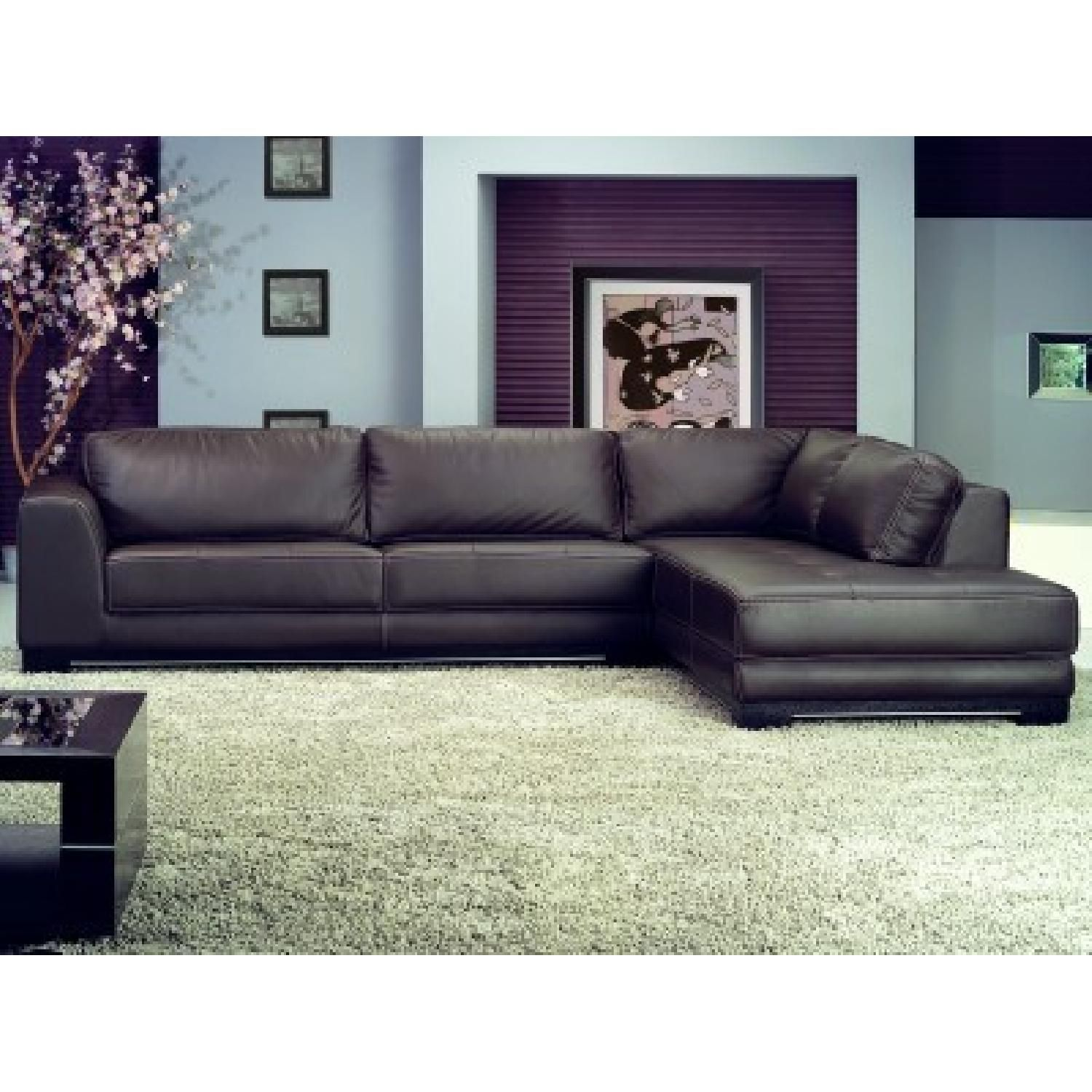$1169 for sectional New Soho sectional with bump chaise in ether