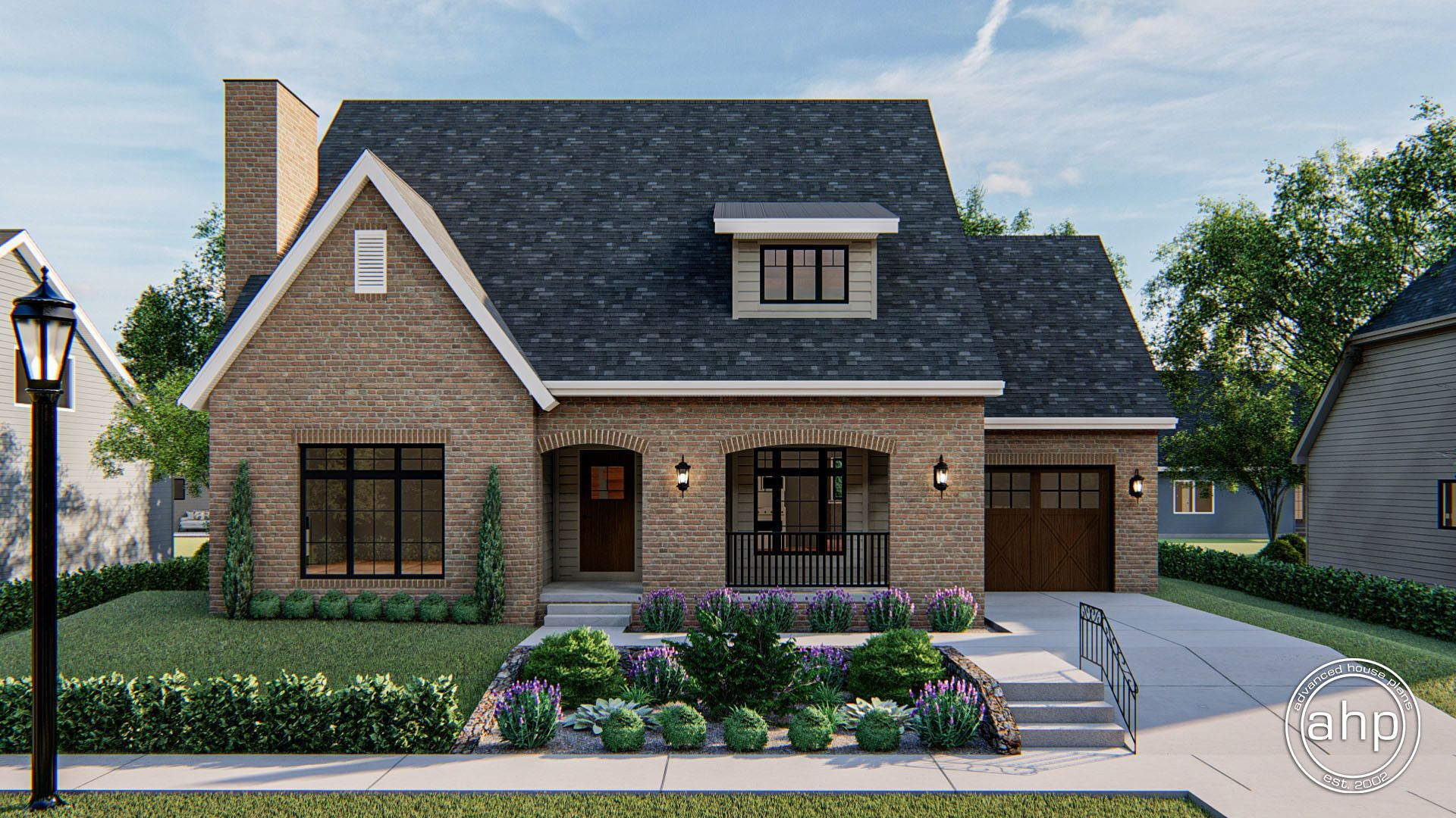 1.5 Story Modern Cottage Plan | Northridge in 2020 | Brick ...